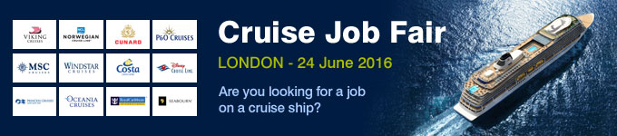Cruise Job Fair - London, 24 June 2016