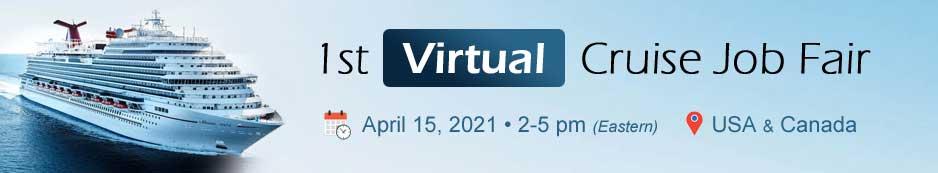 1st Virtual Cruise Job Fair