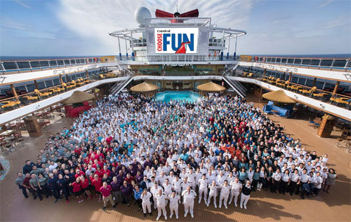 Cruise Crew and Staff